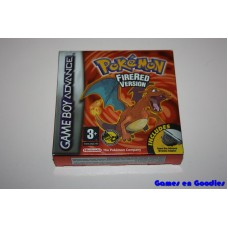 Pokémon FireRed Version (Compleet / incl. Wireless Adapter)