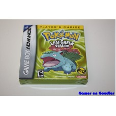 Pokémon LeafGreen Version (Compleet / Player's Choice)