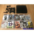 PlayStation 3 Slim 500GB Set + 10 Games